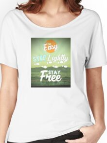 Go Easy... Women's Relaxed Fit T-Shirt