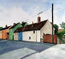 Love Lane Cottages, Burnham-on-Sea by Timothy Smith