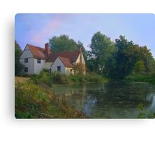 The haywain, colorful version, present day Canvas Print