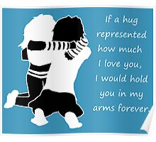 Something special about hugs :) Poster