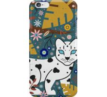 Snow Leopard Cub iPhone Case/Skin