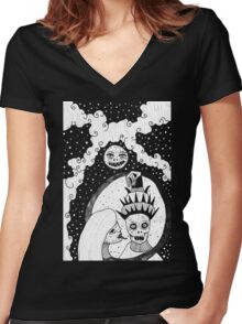 """""""Give Me All Your Dreams"""" Women's Fitted V-Neck T-Shirt"""