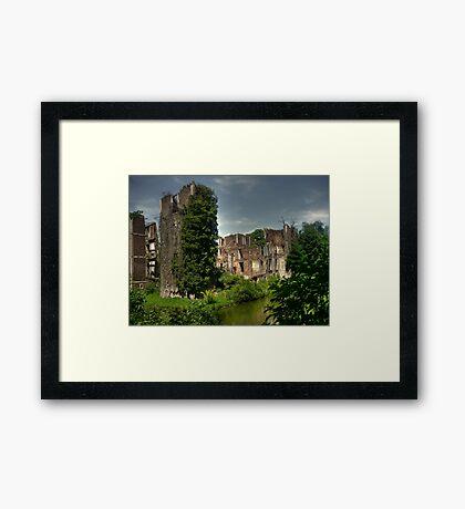 Born Castle Framed Print