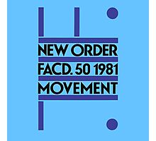 New Order, Movement Photographic Print