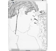 Anakin and Padme Wedding Re-draw iPad Case/Skin