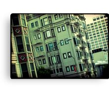 San Francisco Style Canvas Print