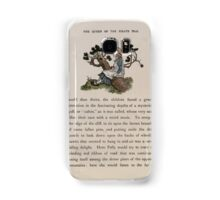 The Queen of Pirate Isle Bret Harte, Edmund Evans, Kate Greenaway 1886 0025 On a Log Samsung Galaxy Case/Skin