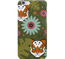 Tigers in the Jungle iPhone Case/Skin