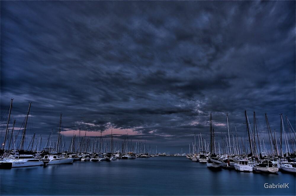 Manly Harbor dusk by GabrielK