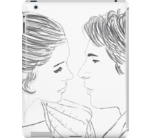 Han and Leia Bespin Re-draw iPad Case/Skin