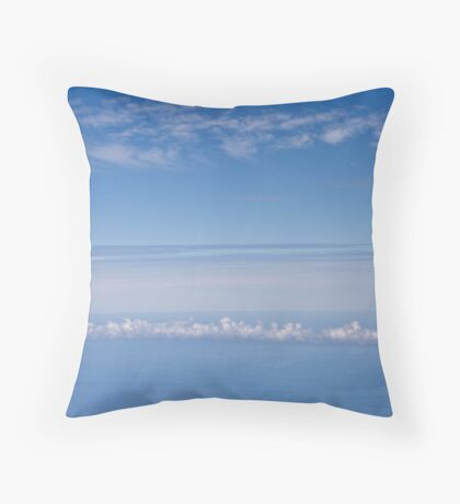 The clouds from the clouds Throw Pillow