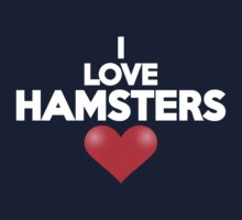 I love hamsters by onebaretree