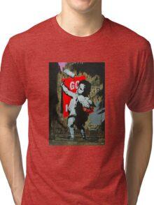 Cherub fly poster Tri-blend T-Shirt