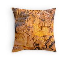 Last light at Port MacDonnell Throw Pillow