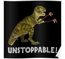 Tyrannosaurus Rex with Grabbers is UnStoppable 2 Poster