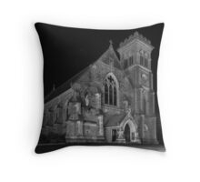 Liberty Church - Monochrome Throw Pillow