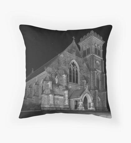 Liberty Church - Monochrome Throw Pillow