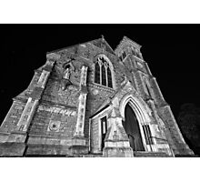 Liberty Church - Wide Angle Monochrome Photographic Print
