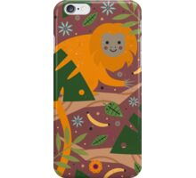 Golden Lion Tamarin  iPhone Case/Skin