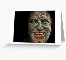 tattoo man Greeting Card