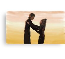 Anakin and Ahsoka Canvas Print