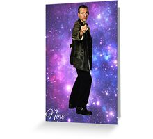 Nine In Stars Greeting Card