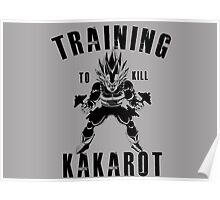 Training to kill kakarot Poster