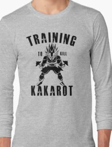 Training to kill kakarot Long Sleeve T-Shirt