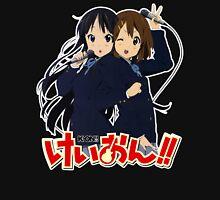 Yui Hirasawa and Mio Akiyama- K-on! Womens Fitted T-Shirt