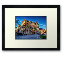 The Island hall - Alderney Framed Print