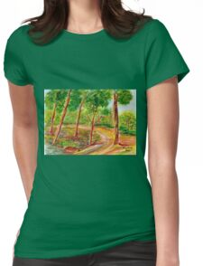 The Gladness of Nature Womens Fitted T-Shirt