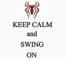 Keep Calm and Swing On Kids Tee