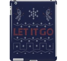 Ugly Frozen Christmas iPad Case/Skin
