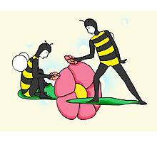Bee Guys (Yellowish) Photographic Print