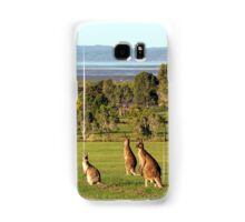 The roos are in the top paddock! Samsung Galaxy Case/Skin
