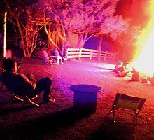 Backyard Bonfire by malise