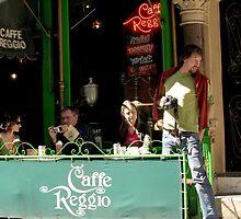 Cafe Reggio by joAnn lense