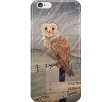 Waiting for the storm to pass.... iPhone Case/Skin