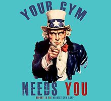 Your gym needs you  by kurticide