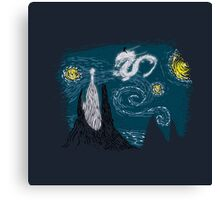 The Neverending Night Canvas Print