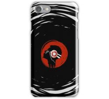 I'm spinning within with a vinyl record... iPhone Case/Skin