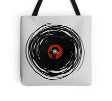 I'm spinning within with a vinyl record... Tote Bag