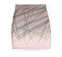 abstract strips on gradient Mini Skirt