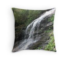 The Water Does Fall Throw Pillow
