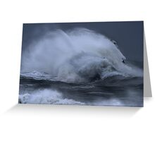 """Cloud Rock."" Broad Haven South, Pembrokeshire National Park  Greeting Card"