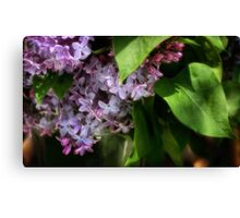 A Vaseful of Spring Canvas Print
