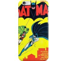 Batman Number One Comic Cover iPhone Case/Skin