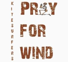 Kitesurfers Pray for Wind Kids Clothes