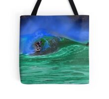 80's Surf Style - Tubed! Tote Bag
