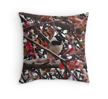 Black Cap Throw Pillow